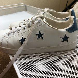 Steve Madden girl jean-star sneakers